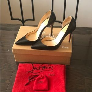 Christian Louboutin d'orsay heels shoes